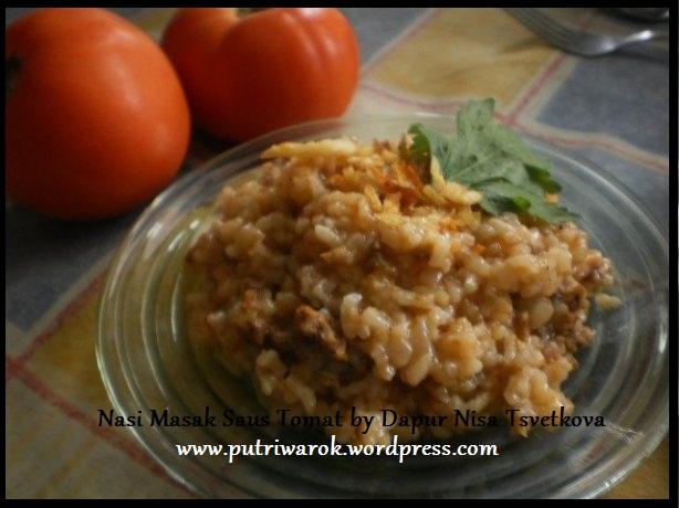 nasi masak saus tomat by nisa tsvetkova