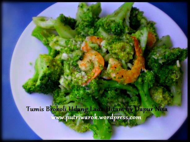 brokoli tumis lada hitam by nisa tsvetkova