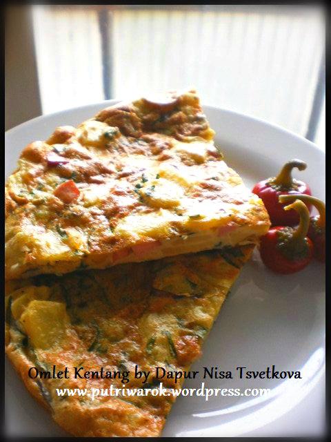 omlet kentang by nisa tsvetkova