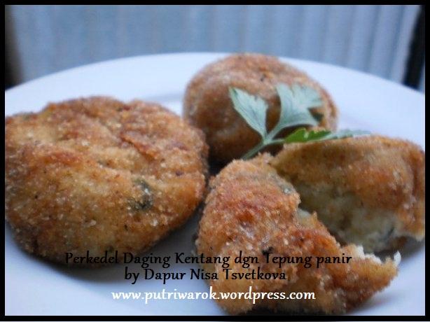 perkedel kentang daging paniran by dapur nisa