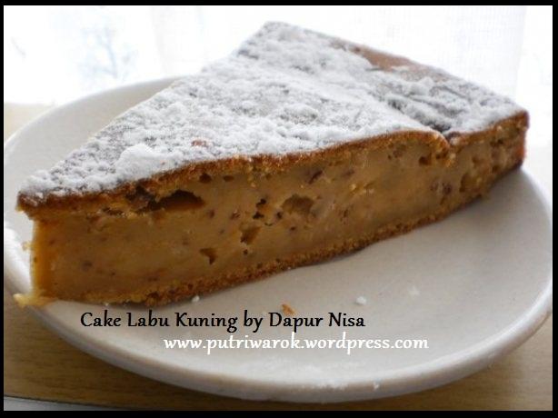 cake labu kuning by dapur nisa tsvtkova