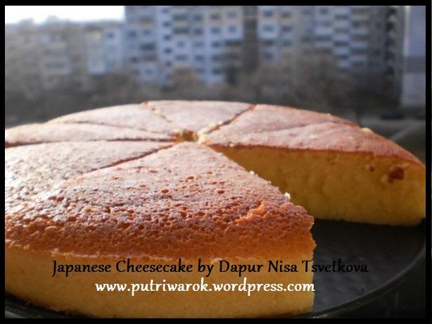 Japanese Cheesecake by nisa tsvetkova