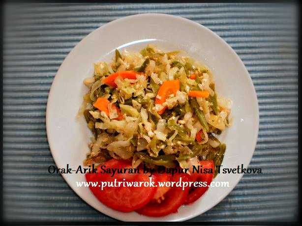 orak arik sayuran by nisa tsvetkova