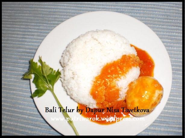 Bali Telur by nisa