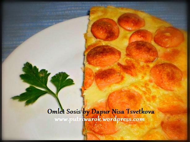 omelet sosis by nisa tsvetkova