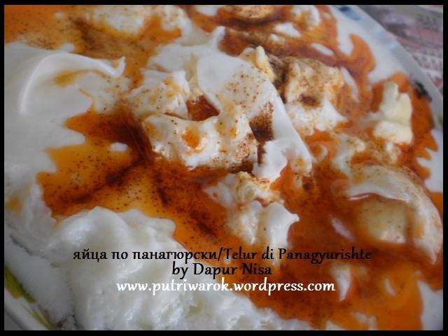 яйца по панагюрски / Telur di Panagyurishte by nisa tsvetkova