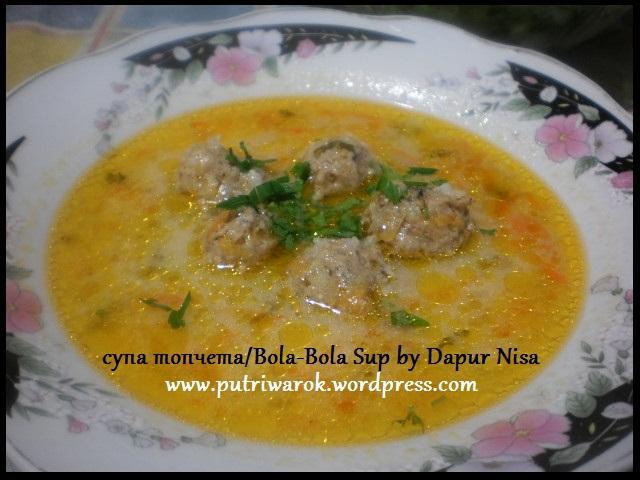 Supa topceta by dapur nisa tsvetkova