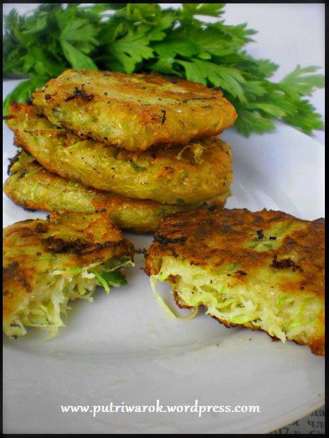 zucchini pancake by nisa tsevtkova