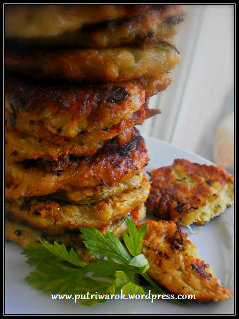 Zucchini pancake by nisa tsvetkova