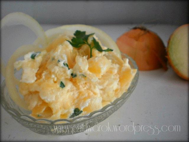 salad kentang campur mayones  by nisa tsvetkova