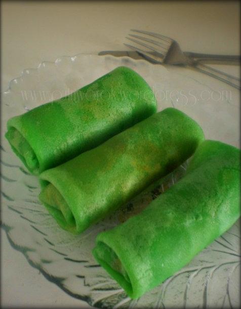 dadar gulung /slatki palacinki c kokosovi orehi