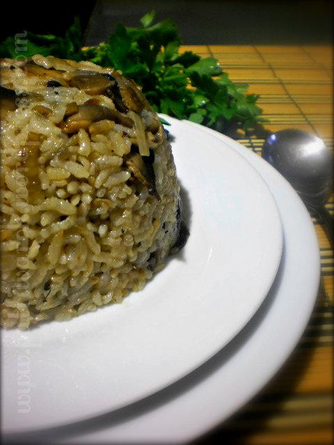 гъби с ориз / Nasi Jamur by nisa tsvetkova