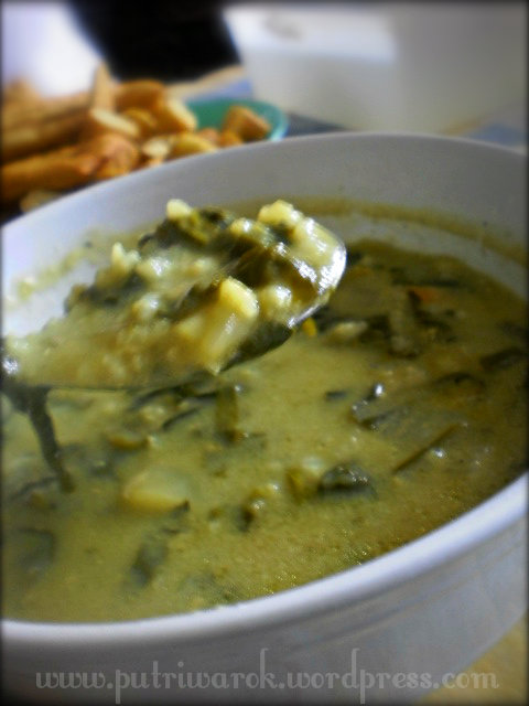 супа лапад с ориз / Dock Soup by nisa tsvetkova