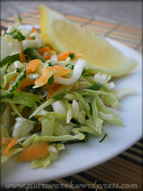 Зелева салата / salad daun kubis by nisa tsvetkova