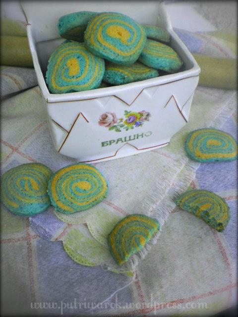 cookies spiral by nisa tsvetkova