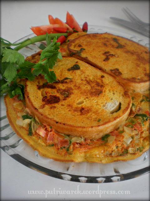 Bread Omelet by nisa tsetkova