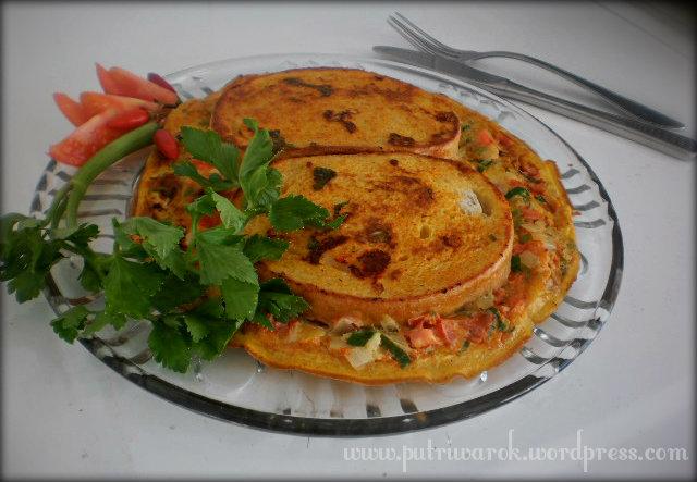 Bread Omelet by nisa tsvetkova