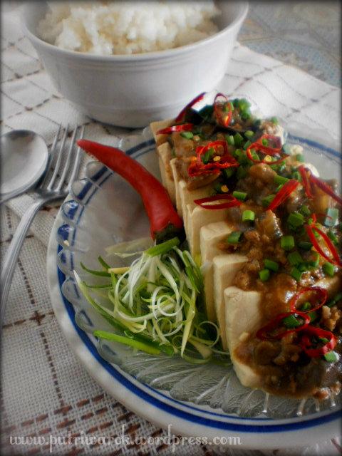 Steamed Tofu / Tahu Kukus y nisa tsvetkova