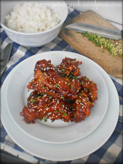 Korean Style Fried Chicken / Ayam Goreng Ala Korea by nisa tsvetkova