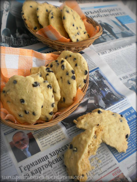 Microwave-Chocolate Chip Cookies by nisa tsvetkova