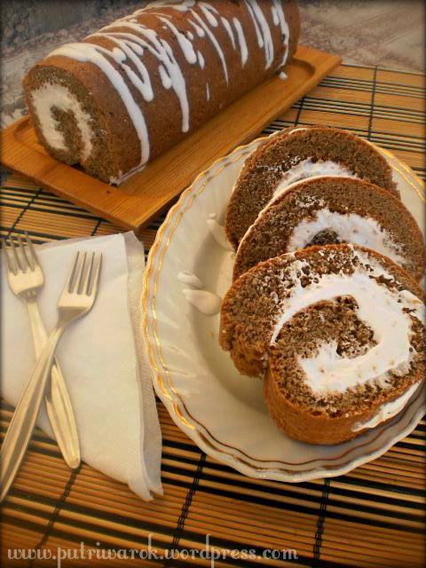 Cocoa Roll Cake by nisa tsvetkova