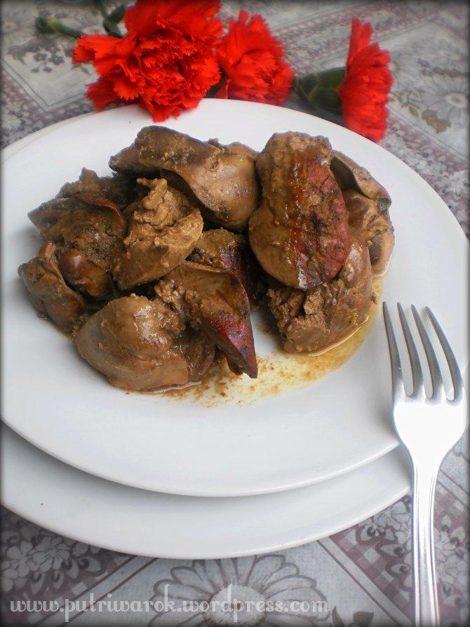 Hati Ayam Panggang dgn Saus Mustard by nisa tsvetkova