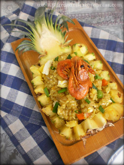 Khao Pad Sapparod / Pineapple Fried Rice by nisa tsvetkova