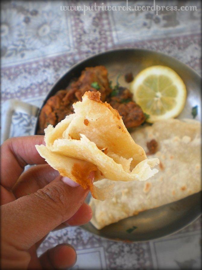 Bhuna Masala & Roti Chappati by nisa tsvetkova