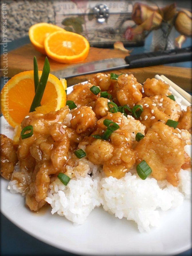 Orange Chicken (Simply Recipe) by nisa tsvetkova