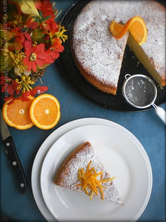 Orange Cake by Nisa Tsvetkova