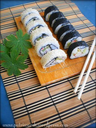 Sushi by nisa tsvetkova