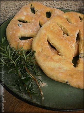French Fougasse Rosemary & Olive by Nisa Tsvetkova