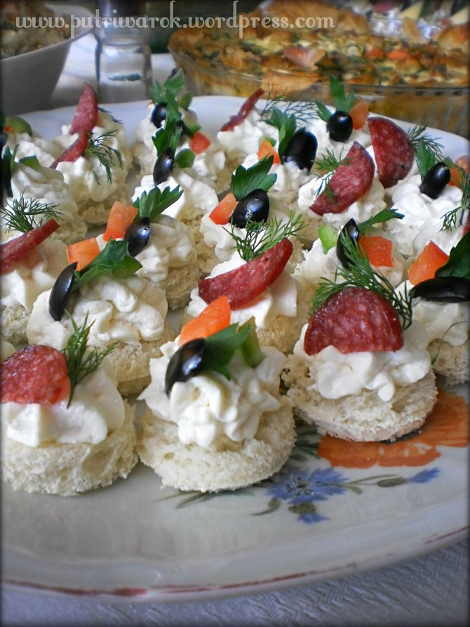Cream Cheese Mayo Appetizer by nisa tsvetkova