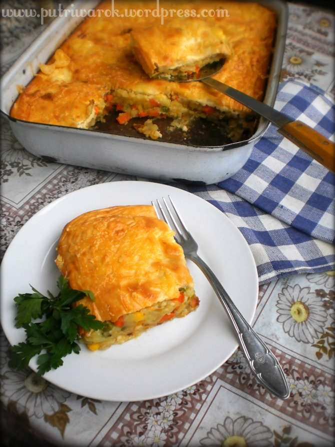 Oгретен от зеленчуци / gratin of vegetables by NIsa Tsvetkova